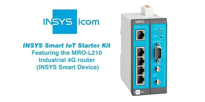 Insys Mro L210 Industrial All In One 4g Router Hannover